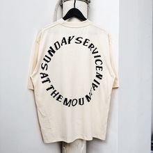 Kanye West Sunday Service Holy Spirit CPFM T Shirt Men Women Streetwear Harajuku T-shirt Xxxtentacion Cotton Tshirt