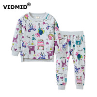 VIDMID Baby Girl Clothing Set Girls Suits Children Sweater Pants Long Sleeve Blouse Spring Autumn Clothing
