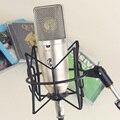 Бесплатная доставка удивительный звук для неймана стиль конденсаторный микрофон запись студии радиовещания горы подставкой