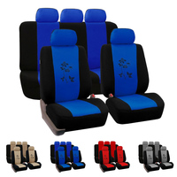Dewtreelita Car Seat Cover Printing Universal Auto Seat Protector Interior Accessories Decoration Car styling for Ford Focus 2