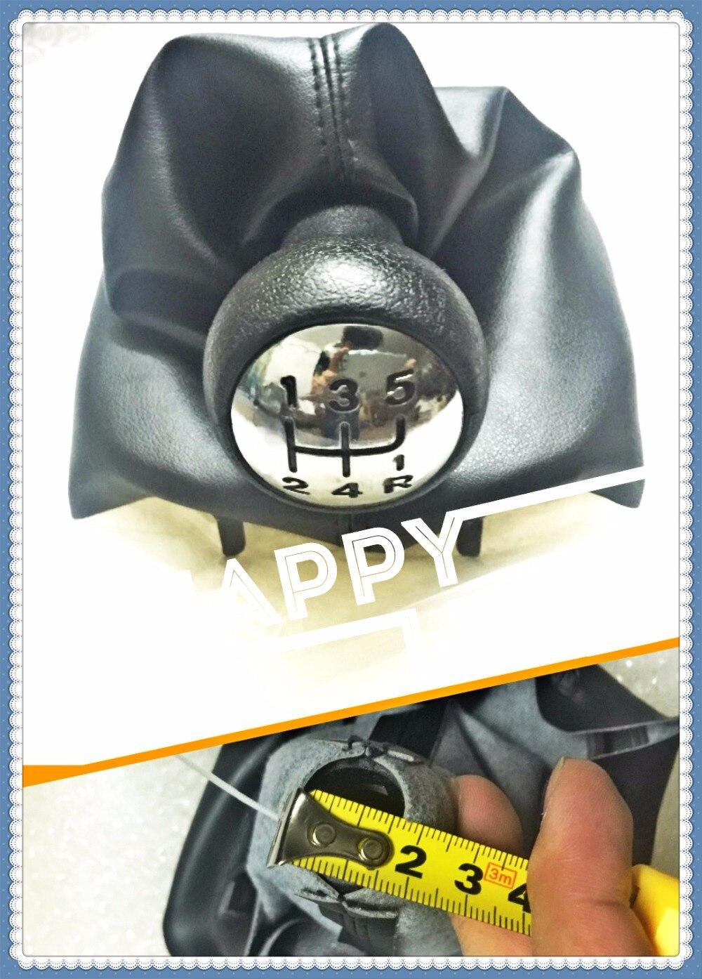 Nuovo Pomello del cambio Per Peugeot 206 306 307 308 3008 Per Citroen C2 C4 Picasso 5 Speed Gear Stick Pomello maniglia e tessuto