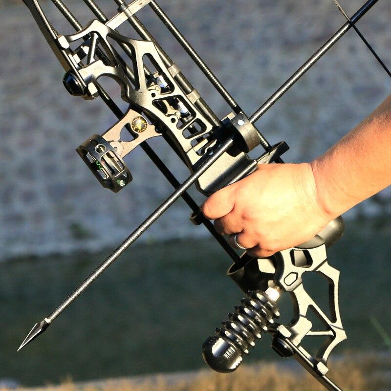 30-50LBS Metal kolu yay Olimpik Yay Sağ El Okçuluk Yay Çekim Avcılık Oyunu Uygulama aracı Rus alıcı satın alabilirsiniz