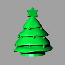 New Christmas Candle silicone mold Christmas Tree Sugar Hulu Fence Original Handmade Aromatherapy Gypsum Candle Mould