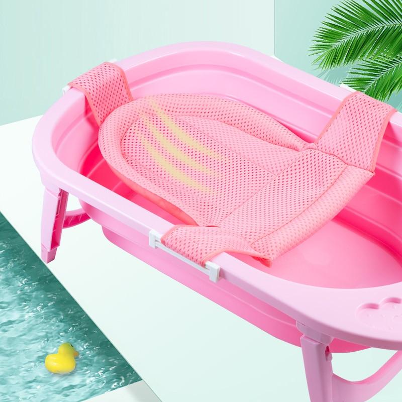 cha de bebe portatil cama colchao de ar mat banheira newborn seguranca seguranca apoio assento de