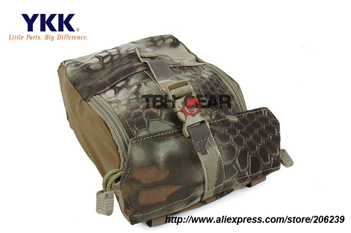 TMC 9x7x3 GP Pouch Kryptek Mandrake MOLLE General Purpose Utility Pouch Smart Pouch Free shipping SKU12050036