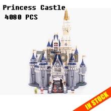 Модели Строительство Игрушка 16008 Золушка Принцесса замок модель строительные блоки, совместимые с lego City серии 71040 игрушки и хобби