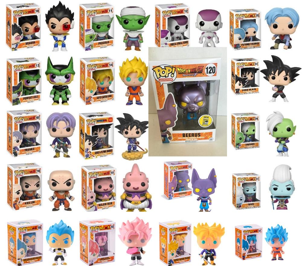 Funko Pop Dragon Ball Super Saiyan Goku Super Vegeta