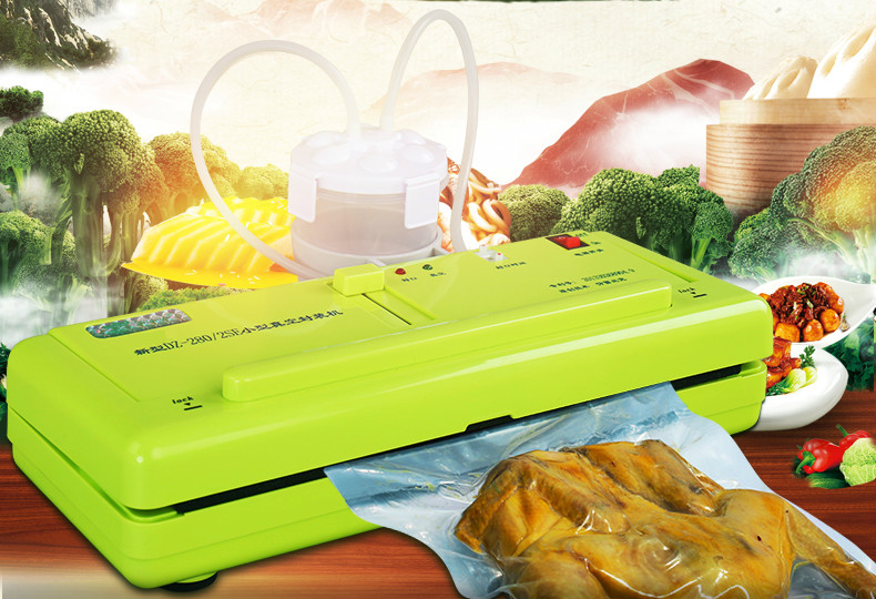 Vacuum Food Sealers sealing machine small household dry-wet dual purpose dumplings cleaners automatic products NEW yokohama 235 55 r18 ice guard stud ig35 104t