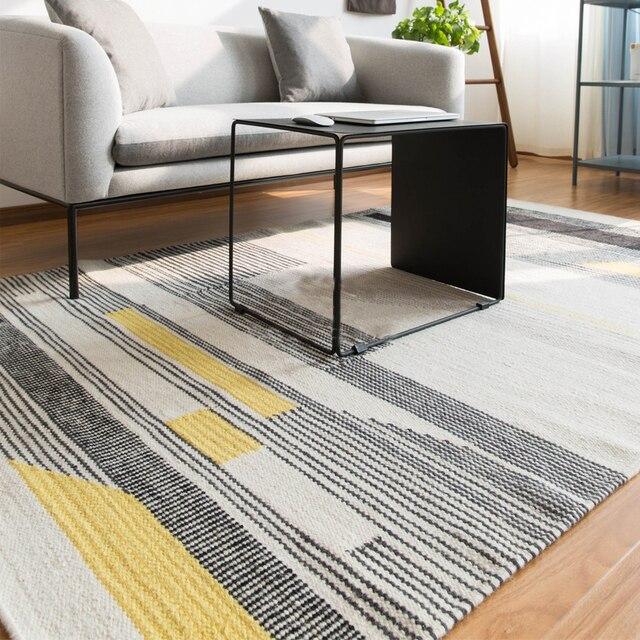 Teppich Schwarz Weiß Gestreift 100 wolle kelim teppich geometrische böhmen indische teppich plaid