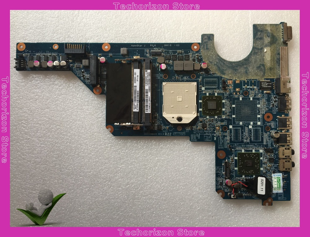 638856-001 DA0R22MB6D1 /D0 Fit For HP Pavilion G4 G6 G7 Notebook Motherboard Tested Working