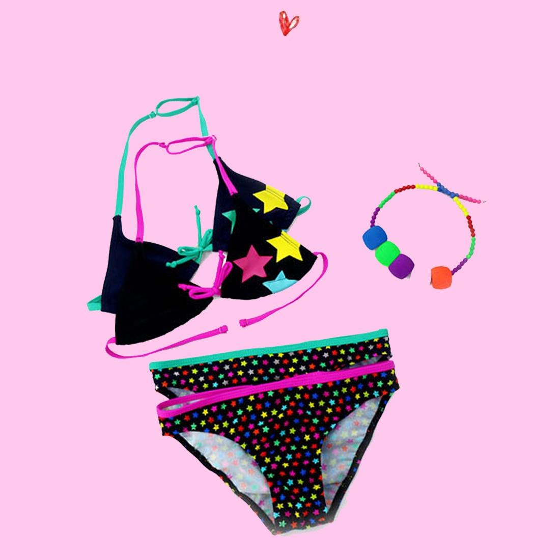 2017 Nuevo traje de baño de verano para niñas, traje de baño de - Ropa deportiva y accesorios