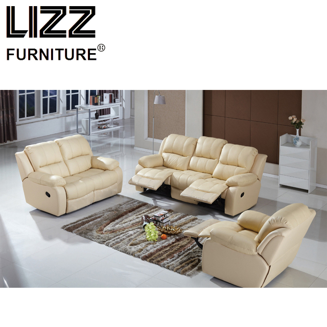 Recliner Sofas Loveseat Chair Fabric Sectional Sofa Set Living Room