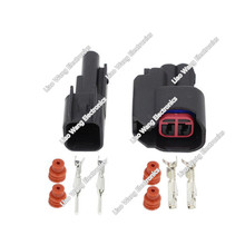 5 Sets  2 Pin Female And Male EV6 Fuel Injector Electrical Connector Plug DJY7022H-2.2-11/21