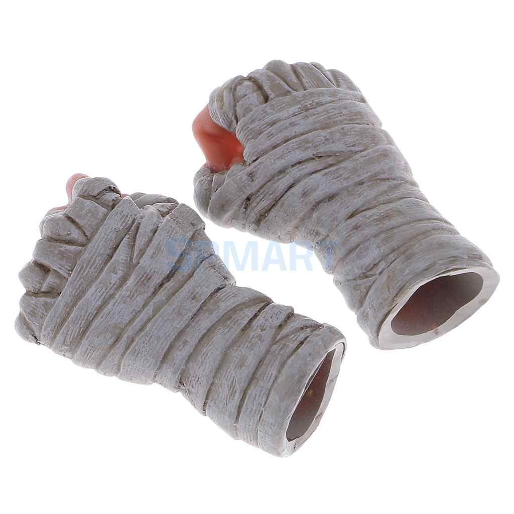 65441b6c191 ... 1 Pair 1/6 Scale Bandage Punch Bag Boxing Gloves for 12'' Sideshow ...