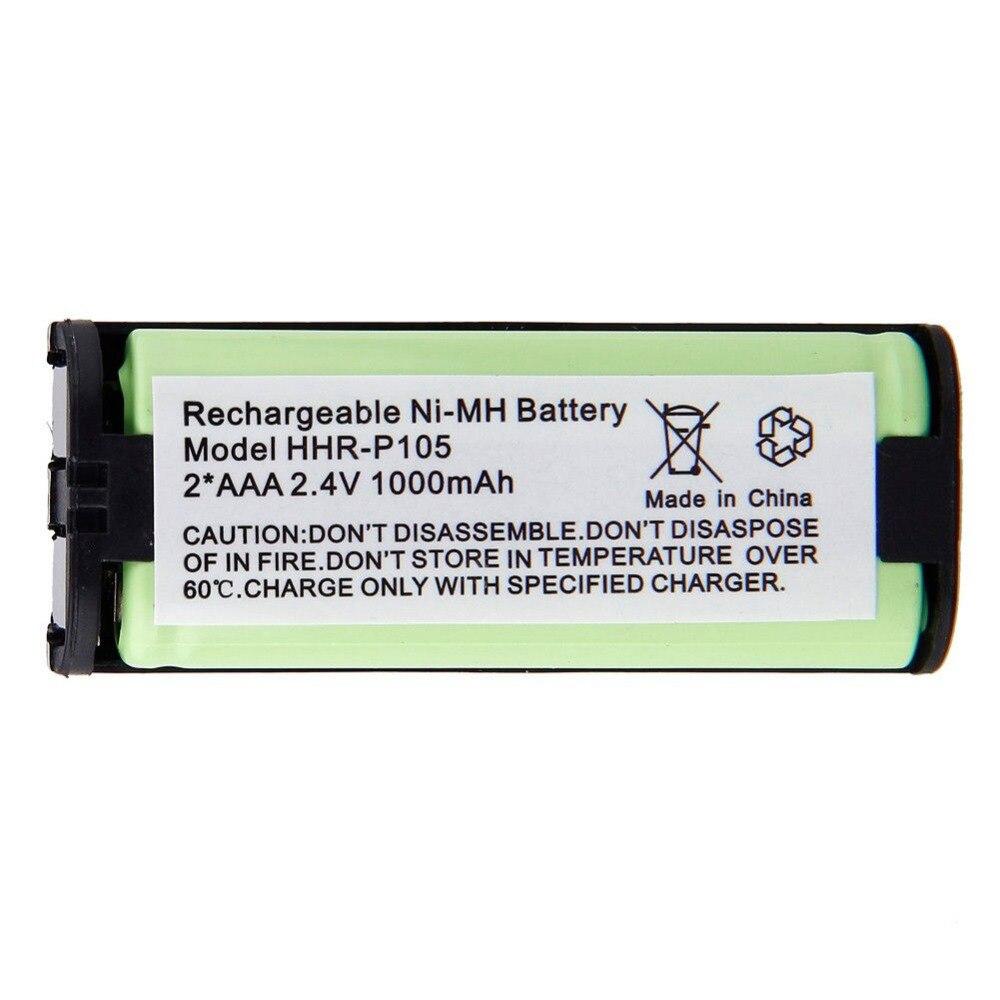 3 x 2.4V 1000mAh Home Cordless Phone Battery for Panasonic HHR-P105 HHRP105 New