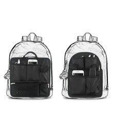 Большой вместительный дорожный рюкзак, внутренняя сумка-Органайзер, многофункциональный дорожный рюкзак, сумка в сумке