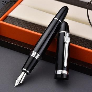 Fountain Pen Adult Practice Word Thick Pole Spiral Cap Vintage Retro Nostalgic Old Spin Cap Spin Pen Cap Premium Beauty