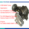 Турбокомпрессор GTB1649V turbo kit 28231-27480 для D4EA D4ED D4EF D4EA-F дизельный двигатель 2 0 CRDi 140HP 103квт