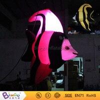 Gonflable modèle jouet hauteur 2 m Trouver Nemo gonflable poissons tropicaux suspension pneumatique mer poissons avec des lumières led pour adversting