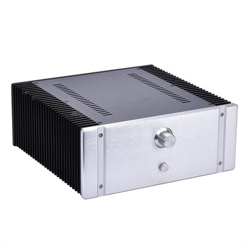 320*130*313mm Super heat dissipation All aluminum class A power amplifier housing shell, case, outer casing, outer covering