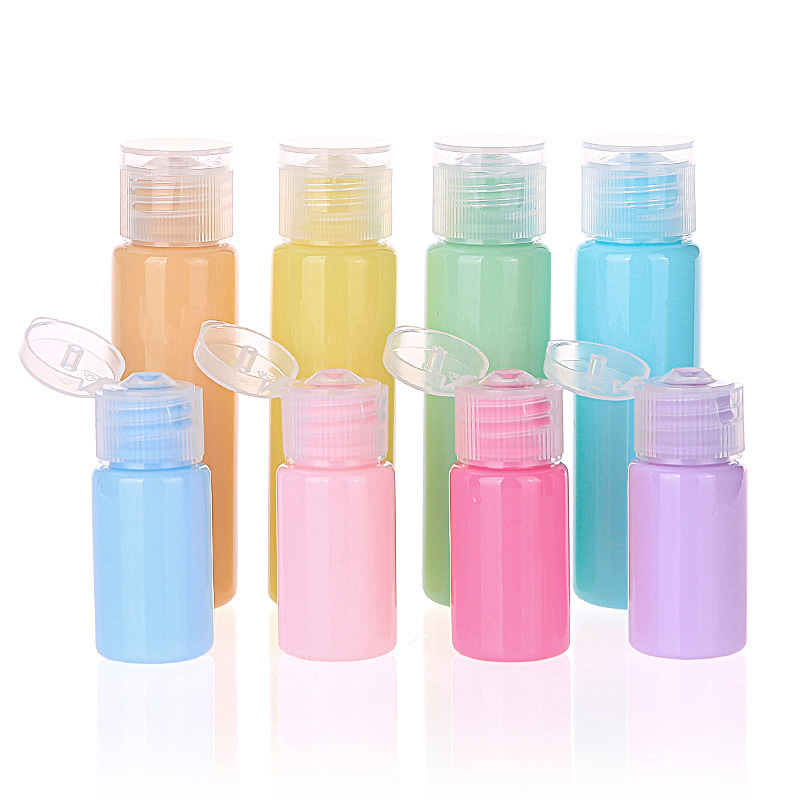 10ml/30ml Makeup Refillable Bottles Traveling Packing Empty Portable Bottle For Lotion Soap Travel Refillable Bottles P4