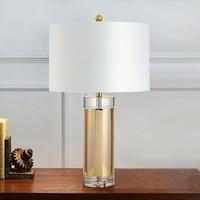 Scandinavian creative table lamp living room bedroom wrought iron eye reading office desk lamp