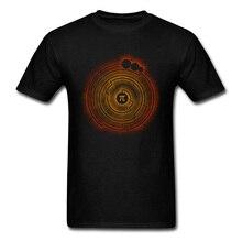 Believe In Pi T-shirt Men Vintage Black T Shirts Vinyl Records Design Tops DJ Hip Hop Tee Shirt Cotton Short Sleeve Clothing XL