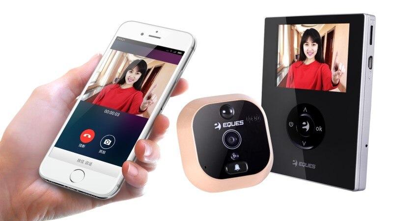 WIFI IP Doorbell APP Remote Control Wireless Video Door Phone water proof ip55 app remote control 720p wifi doorbell video door phone