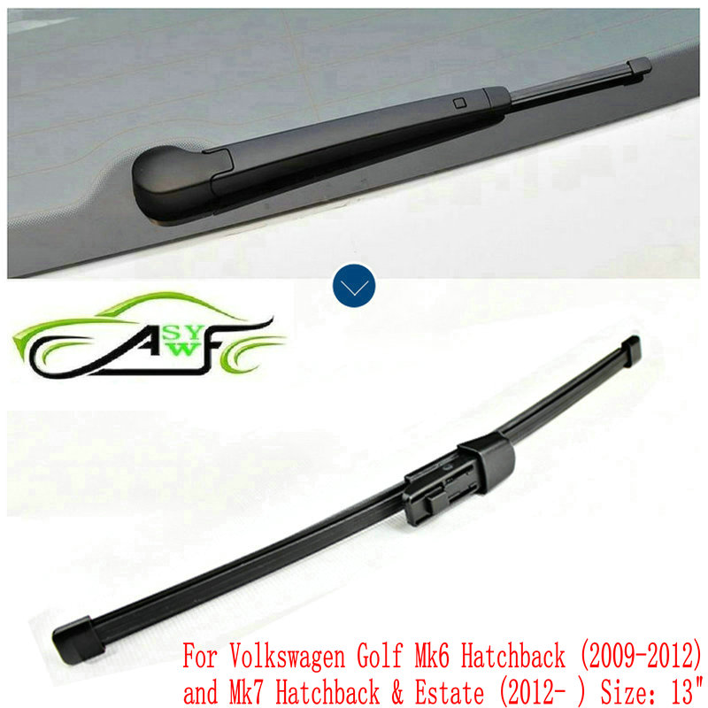 Volkswagen Golf Hatchback Review 2009 2012: Car Rear Wiper Blade For Volkswagen Golf Mk6 Hatchback