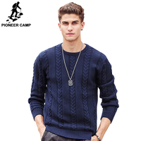 Pioneer Camp Famous Brand Men Sweater Top Quality Fashion Thick Warm Male Pullovers Sweater Casual Sweater
