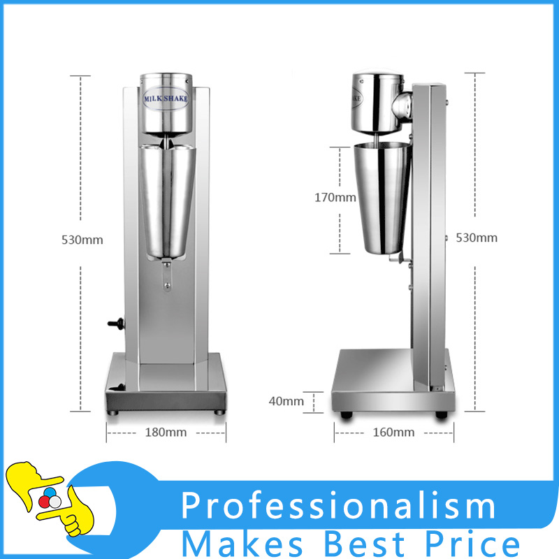 Single Head Milk Shake Machine Milk Mixer Drinker Mixer Machine Commercial Milk Tea Mixer Foam edtid new high quality small commercial ice machine household ice machine tea milk shop