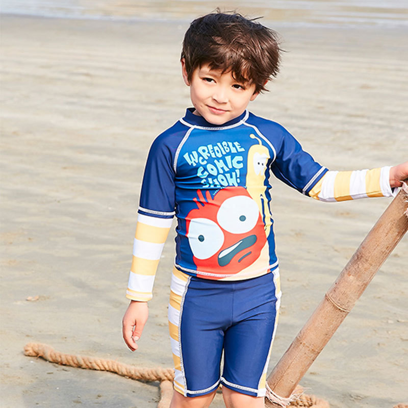 Kids Baby Toddler One Piece Swim Sunsuit Surfing Suit Bathing Sun Protection