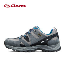 New Clorts Waterproof Hiking Shoes Men Breathable Trekking Shoes Men Outdoor Male Professional Suede Climbing Walking Shoes Man
