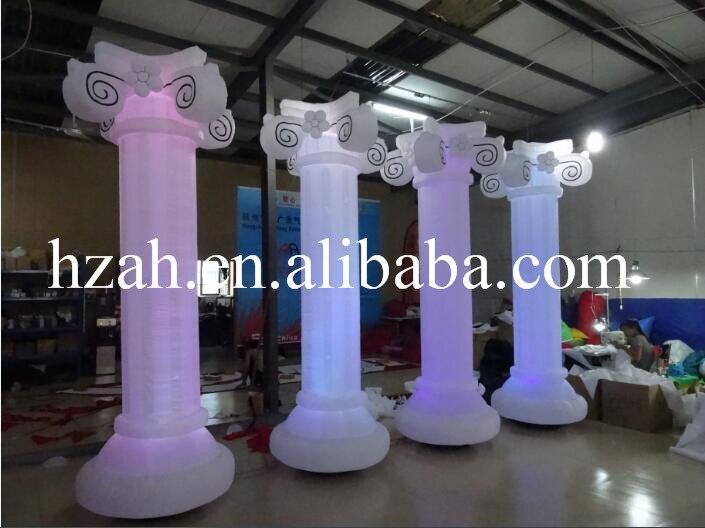 Wedding Decoration Light Inflatable Roman Column wedding decoration inflatable column led lighted inflatable column