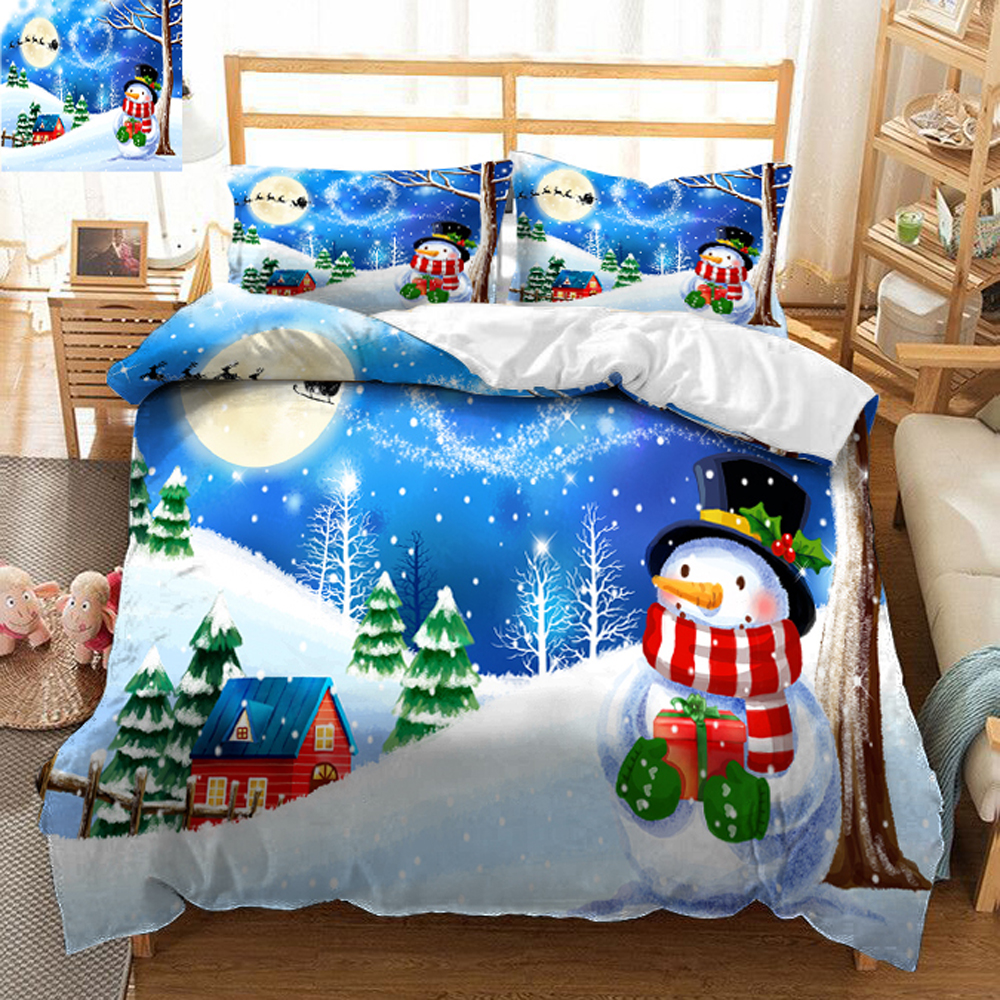 queen size bed sheets set christmas tree decorate 3D bedding set bedsheet Duvet Pillowcase Twin Full  Bed Linen California kingqueen size bed sheets set christmas tree decorate 3D bedding set bedsheet Duvet Pillowcase Twin Full  Bed Linen California king