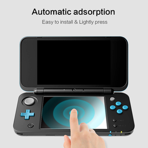 Image 4 - DATA FROG 2 Pcs Tempered Glass Screen Protector For Nintendo New 2DS XL/LL Premium Full Cover Screen Protector Film