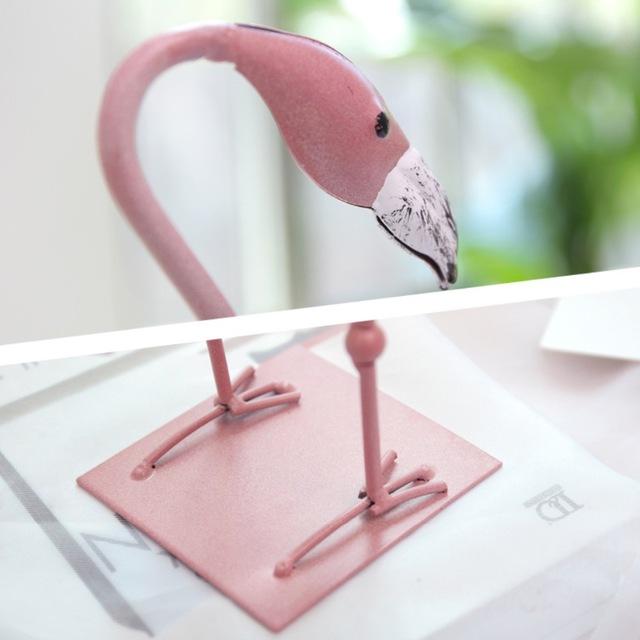 Flamingo style vase