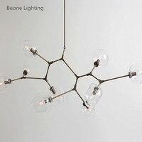 Replica Lindsey Adelman Bubble E27 9 Heads Glass Classic Country Pendant Lamp Pendant Light