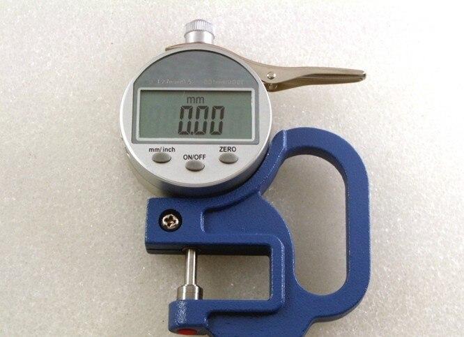 0-12.7mm/0.5 digital thickness gauge digital display micrometer thickness gauge tester thickness meter accuracy 0.01
