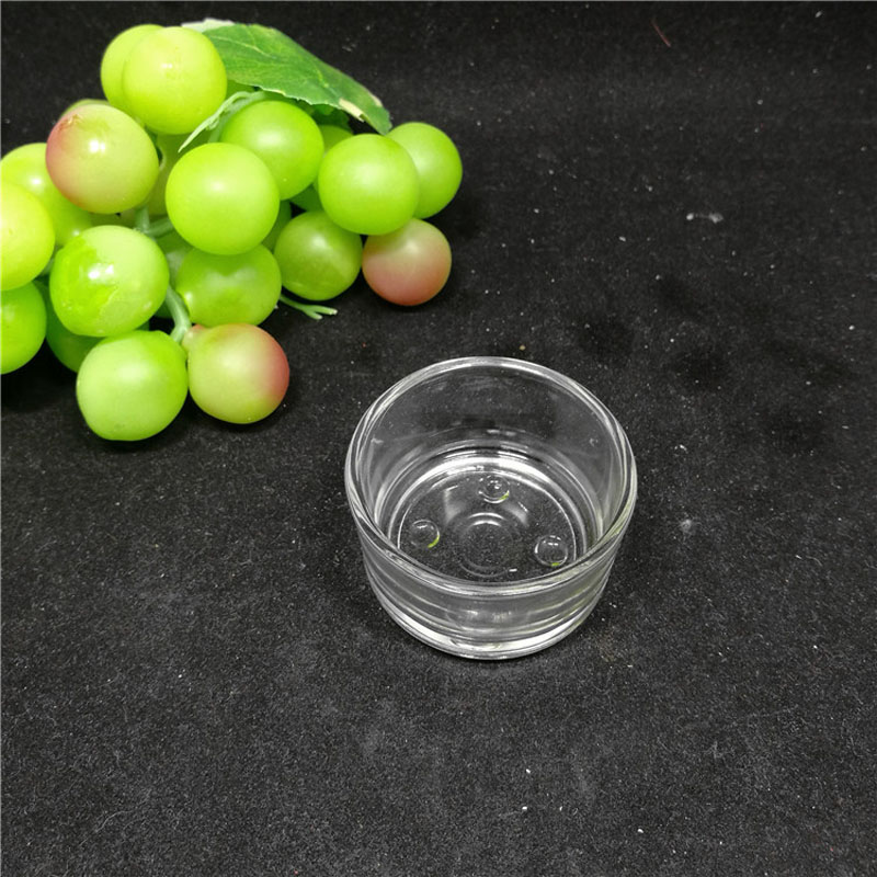 72 Pieces Clear Glass Candle Holders Votives Tea Lights Wedding Centerpiece Plain Simple Round Candle Tealight Holder ZA3790