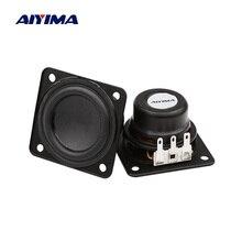 AIYIMA 2 sztuk 1.75 Cal przenośny głośnik Bluetooth 45mm 4 Ohm 10W pełny zakres duży skok dla Harman Kardon głośnik jednostki DIY