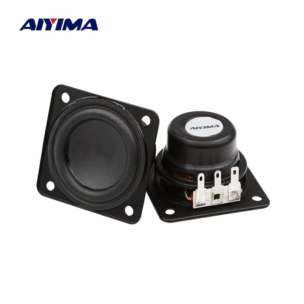 Aiyima 2pcs 1 75 Inch Full Range Portable Audio Bluetooth Speaker 4 Ohm 10w Loudspeaker Large Stroke For Harman Kardon Speaker Bookshelf Speakers Aliexpress