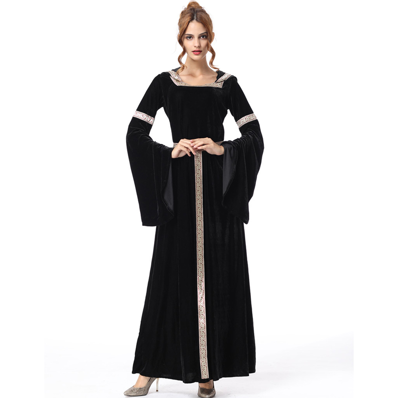 Long princess dress women witch costumes for women halloween costumes for women adult carnival costumes womens scary dresses