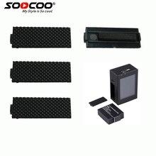 6 х Спорт Действий Камера Крышка Батарейного Отсека для SOOCOO C30/C20/C10S/SJ4000/SJ5000/SJ7000/SJ8000 (Камера и аккумулятор не входит)