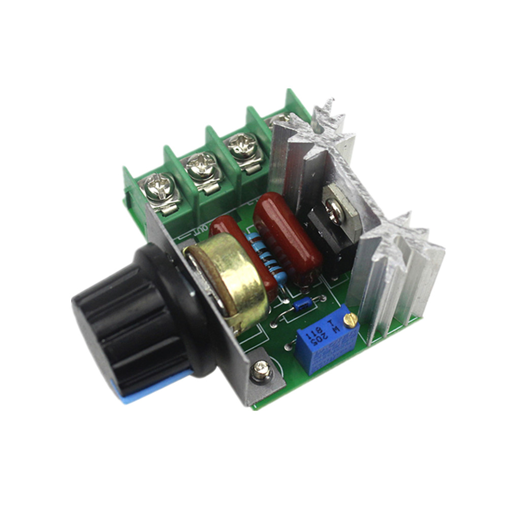 10PCS 2000W SCR PWM Current Protection AC Motor Speed Controller Thermostat