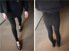 Autumn fashion trousers for pregnant women maternity clothes plus size Thicken type 1719