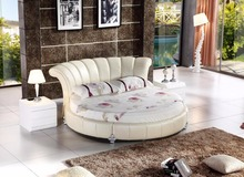 Round Bedroom Leather Hot