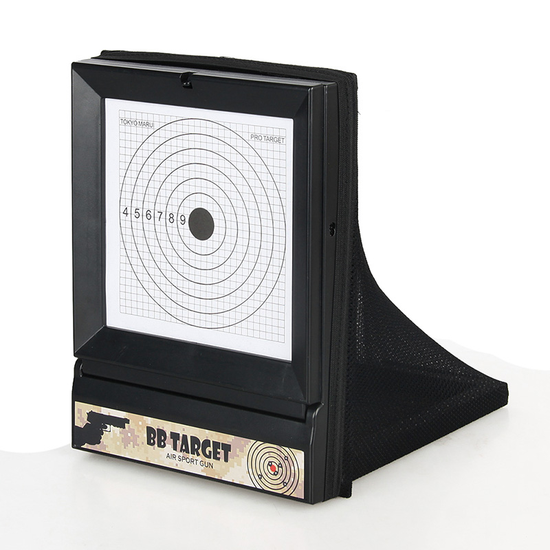 Tactical Bull's-Eye Target Set Practicing Target Air Rifle Shoot Training Targets Gun Shooting Target For Hunting GZ36-0002