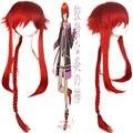 Kamigami нет Asobi локи Laevatein Rocko мидот красивый стиль лохматый слоистых длинная коса аниме косплей hair