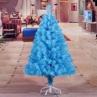 New Year Christmas 1.2 m / 120CM sky blue Christmas tree Christmas Home Decor PVC environmentally friendly materials
